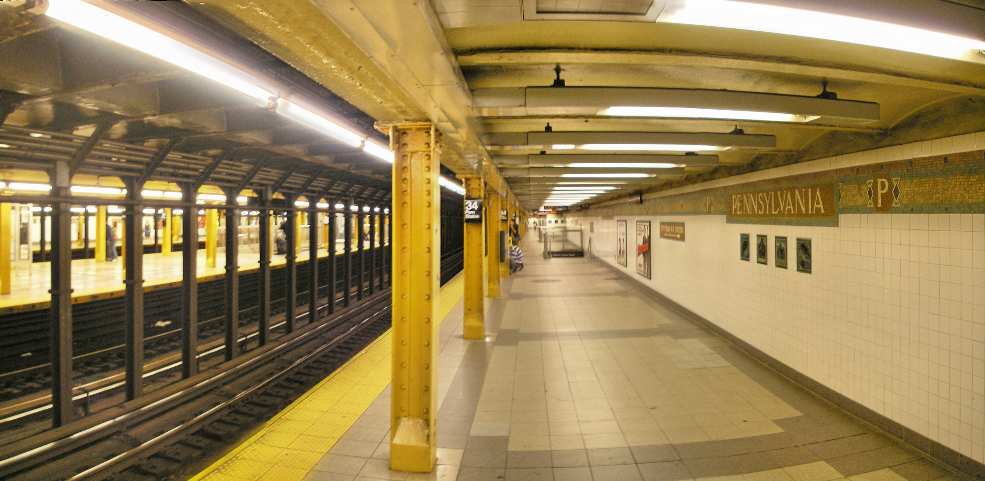 Penn Station Nyc Subway Map.34th Street Penn Station Irt Broadway Seventh Avenue Line Wikipedia