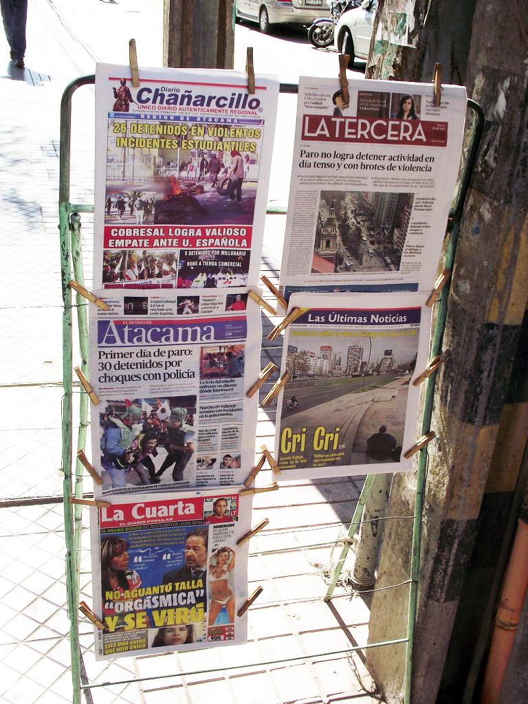 Prensa de Chile - Wikipedia, la enciclopedia libre
