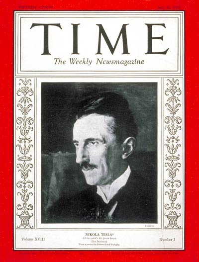 Cover sheet Time magazine, Volume 18 Issue 3, July 20, 1931