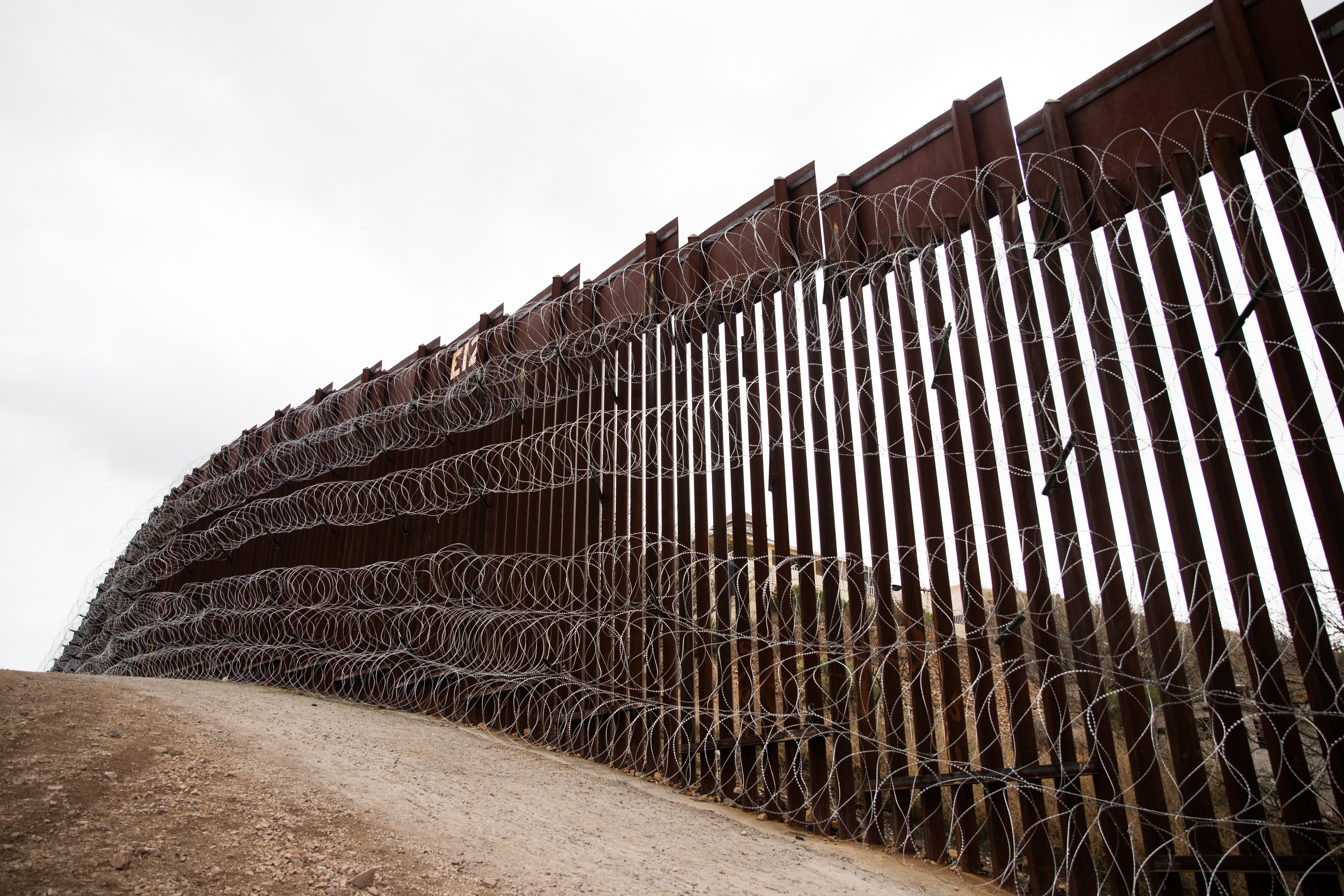 One Oblivious Thing: Border Wall Gets Washed Away