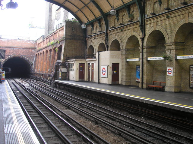 Notting Hill Gate Station - geograph.org.uk - 530753