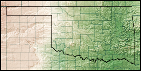 FileOklahoma Relief Mappng Wikimedia Commons - Arkansas relief map