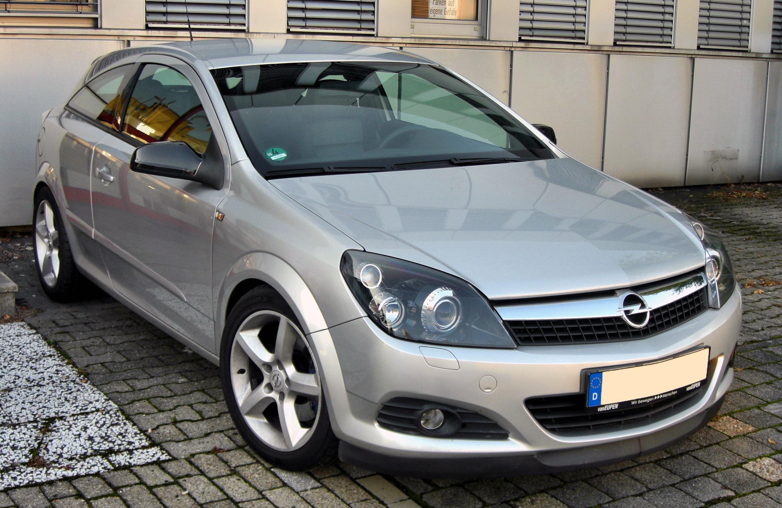 file opel astra h gtc facelift 20090813 front jpg wikimedia commons. Black Bedroom Furniture Sets. Home Design Ideas
