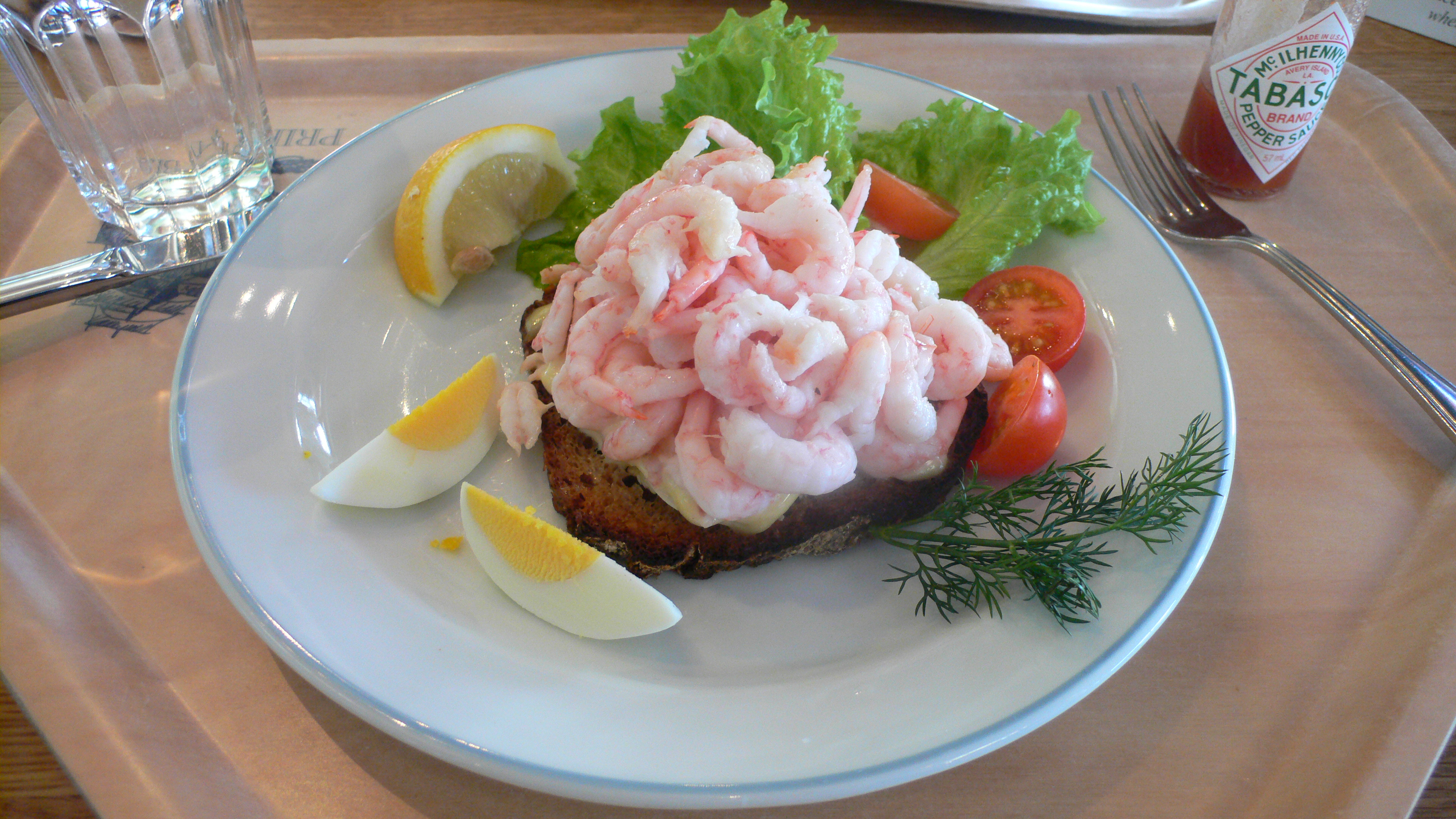 File:Open Faced Shrimp Sandwich.jpg - Wikimedia Commons