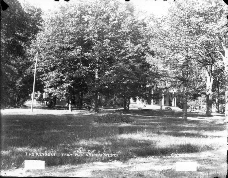 File:Oxford Retreat, partially obscured view from the southwest n.d. (3193616225).jpg