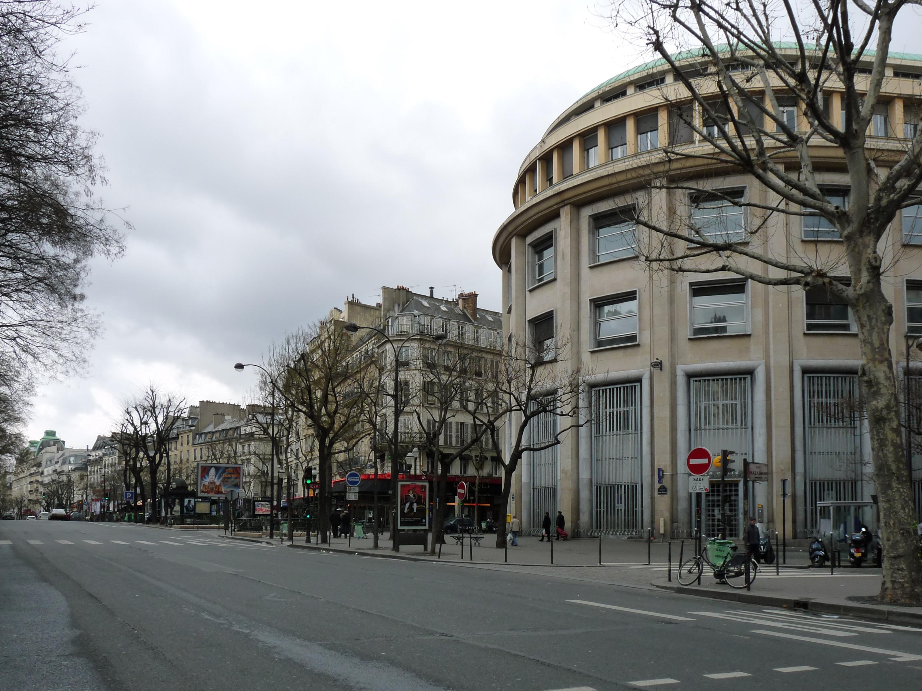 Boulevard Bonne Nouvelle Delaville Caf Ef Bf Bd  Paris