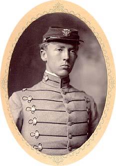 Patton at VMI 1907