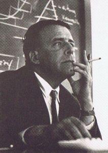 Heintz attending a seminar (1960s)
