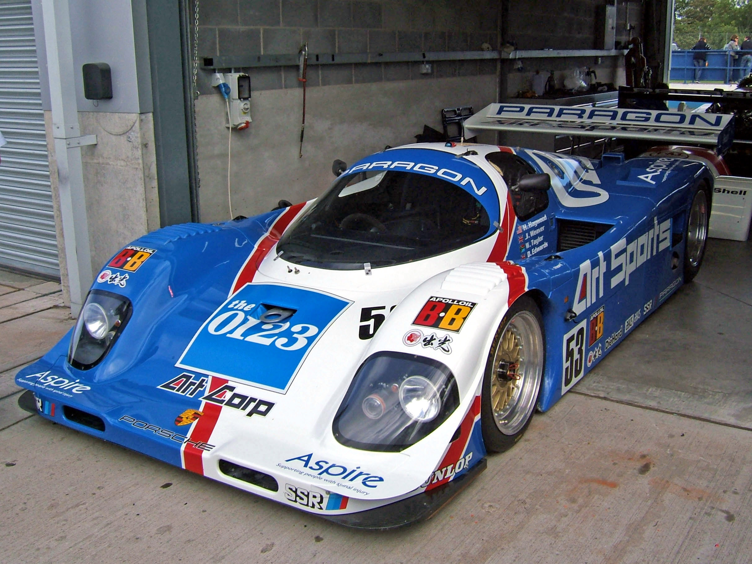 File Porsche 962c Art Sports Donington Jpg Wikimedia Commons