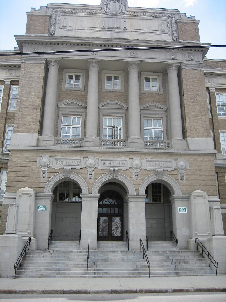 File:Portland High School Front.JPG - Wikimedia Commons