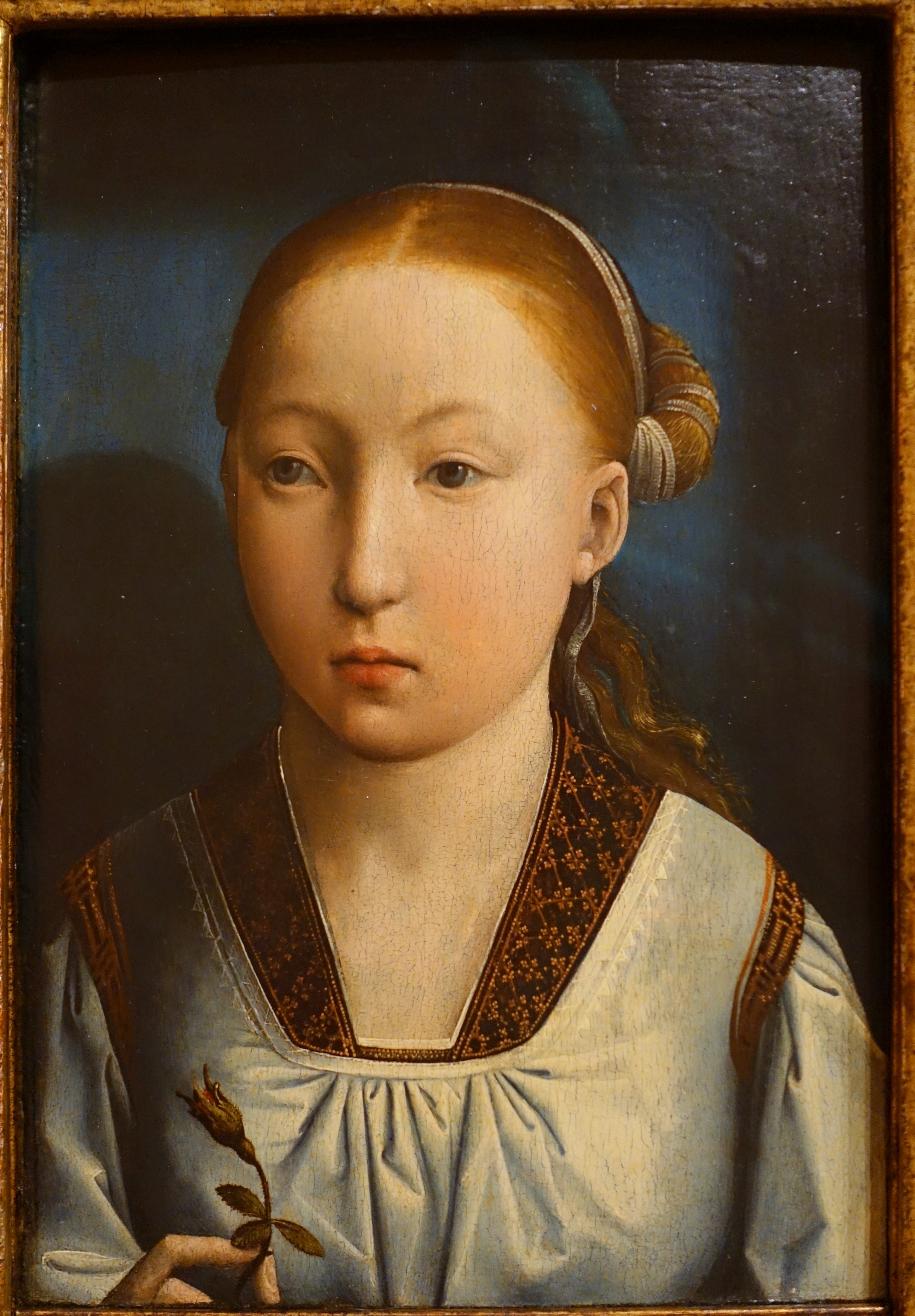Portrait Of A Cute Teen Girl: File:Portrait Of A Girl, Perhaps Catherine Of Aragon, By