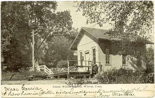 South Wilton Station Wikipedia