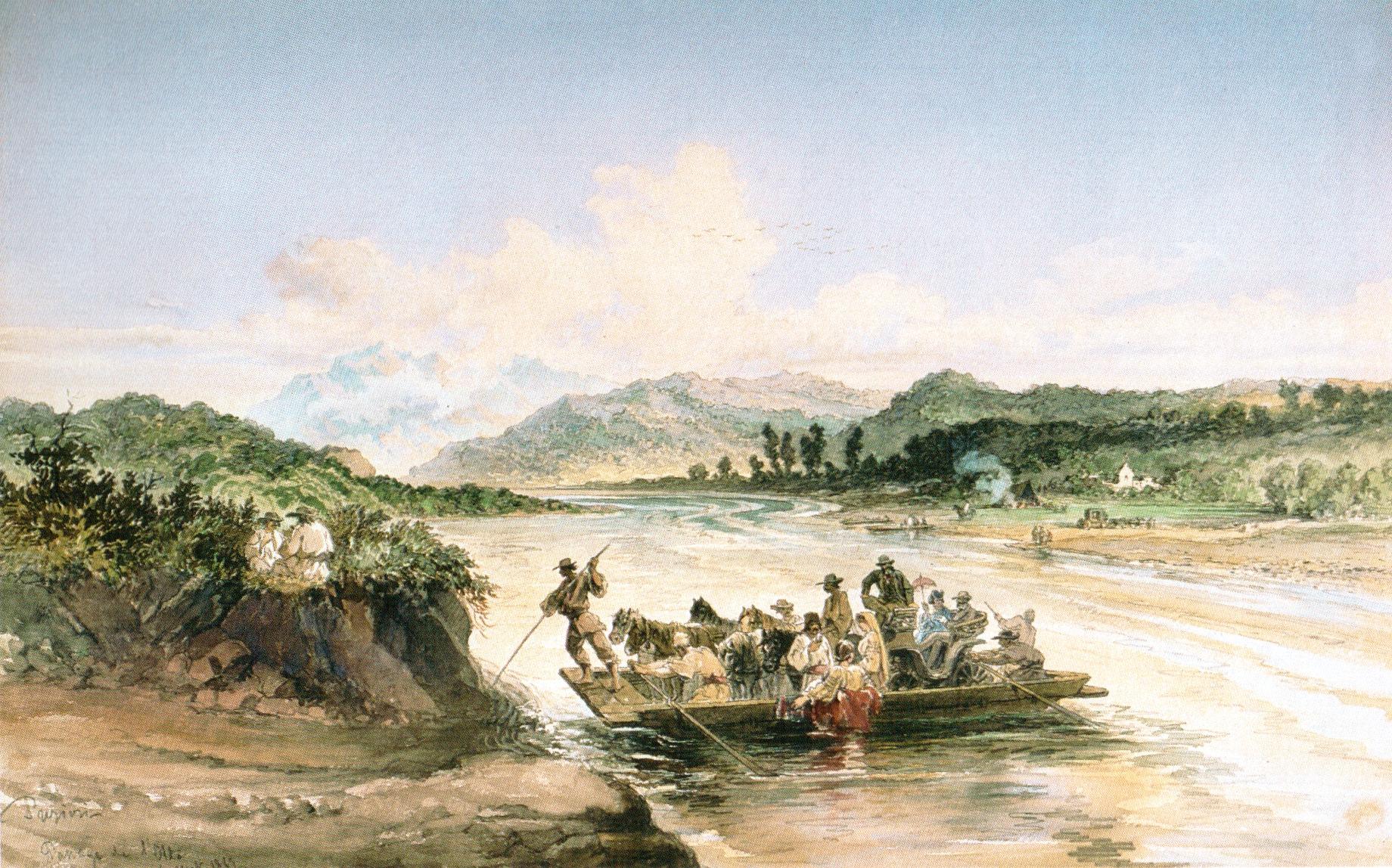 Fantana lui Gal River