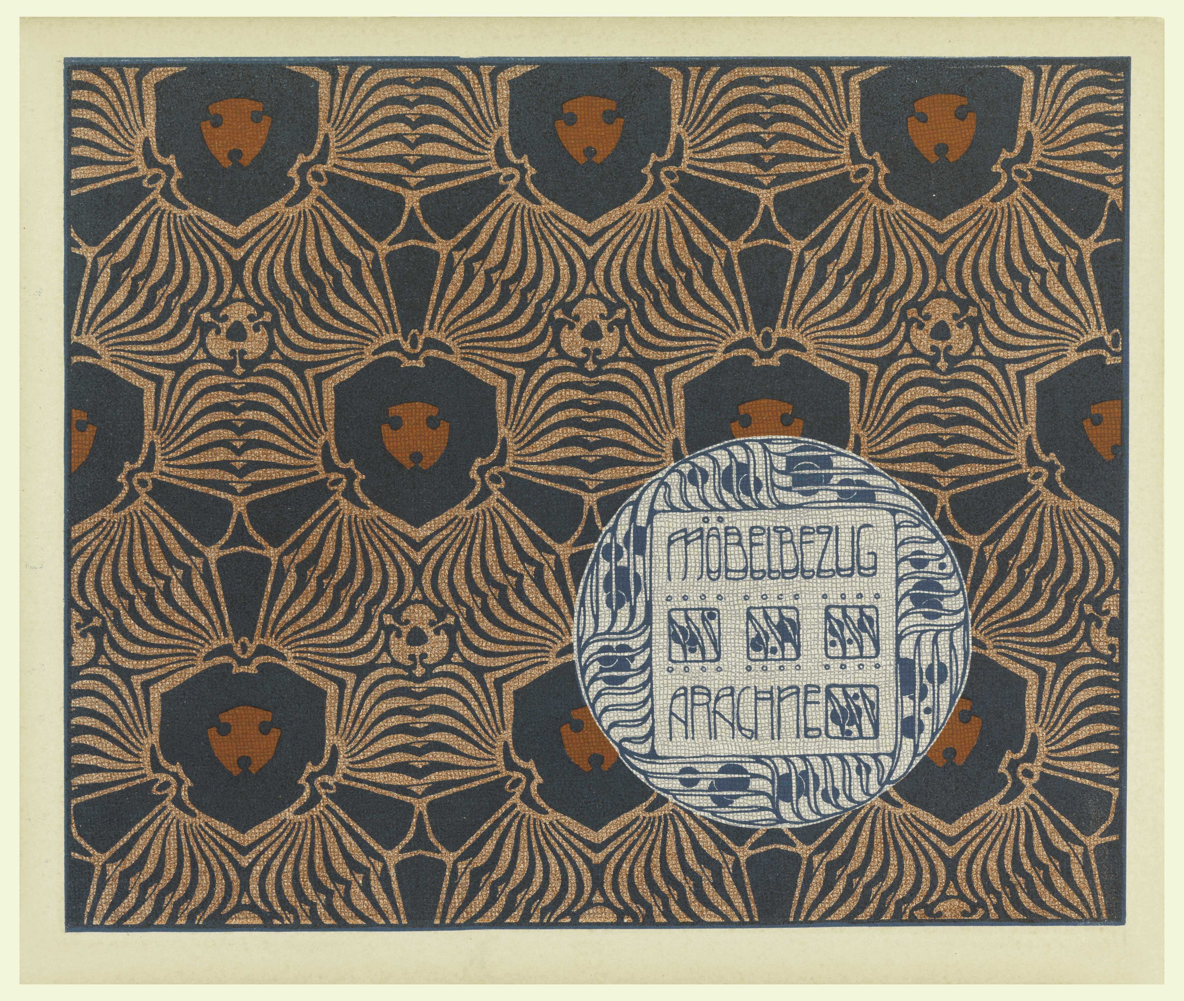 File Print Mobelbezug Arachne Upholstery Fabric Plate 18 In