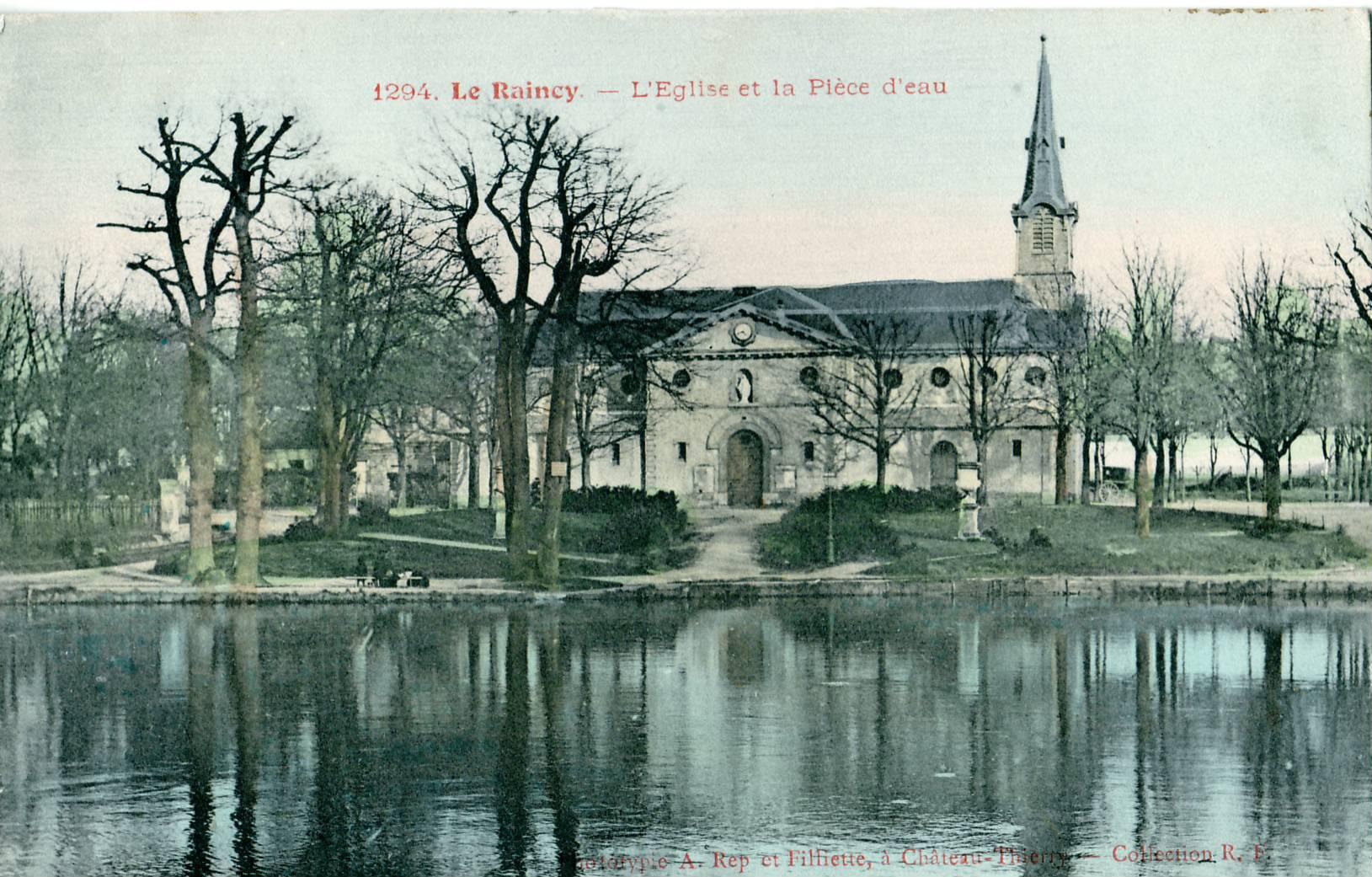 Ancien parc l 39 anglaise du duc d 39 orl ans dani le casanova all e 9 aristide briand avenue - Allee du jardin anglais le raincy ...