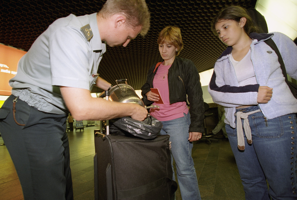RIAN archive 807764 Customs control at Sheremetyevo-2 international airport.jpg