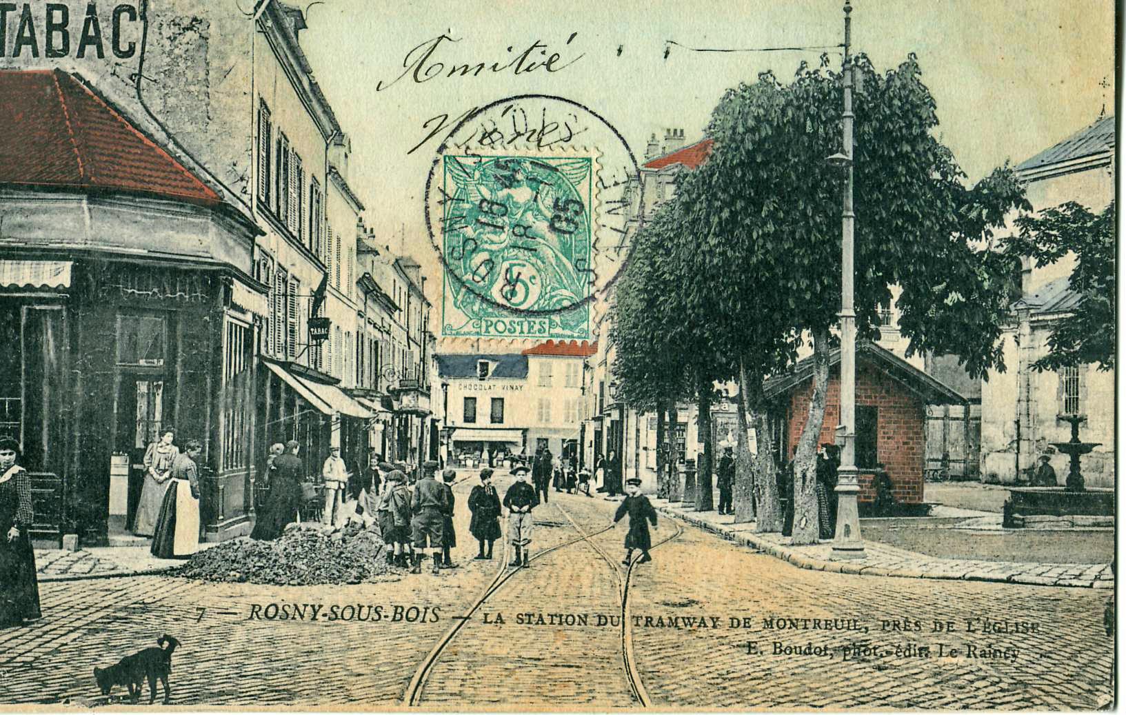 FichierROSNYSOUSBOIS  La station du Tramway de  ~ Commissariat De Montreuil Sous Bois