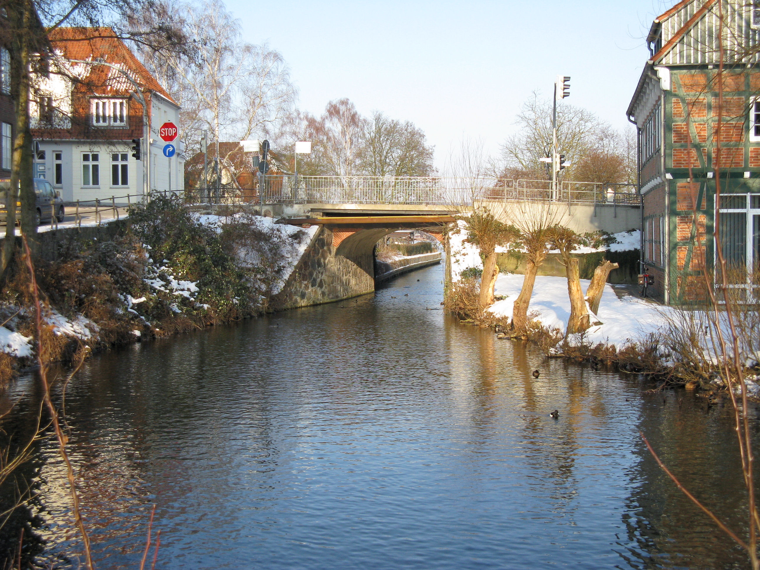 Küchensee Ratzeburg Rundweg ~ file ratzeburg strassenbrücke b 208 verbindungsgraben