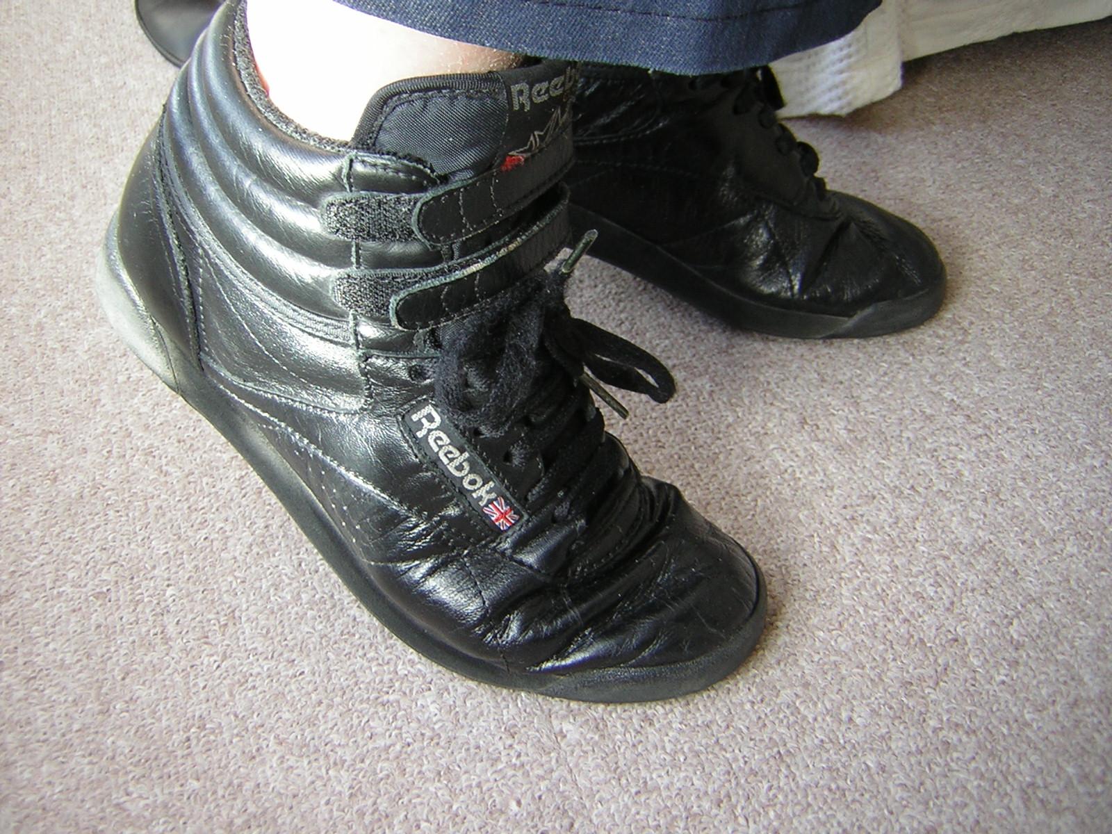 Reebok High Top Basketball Shoes