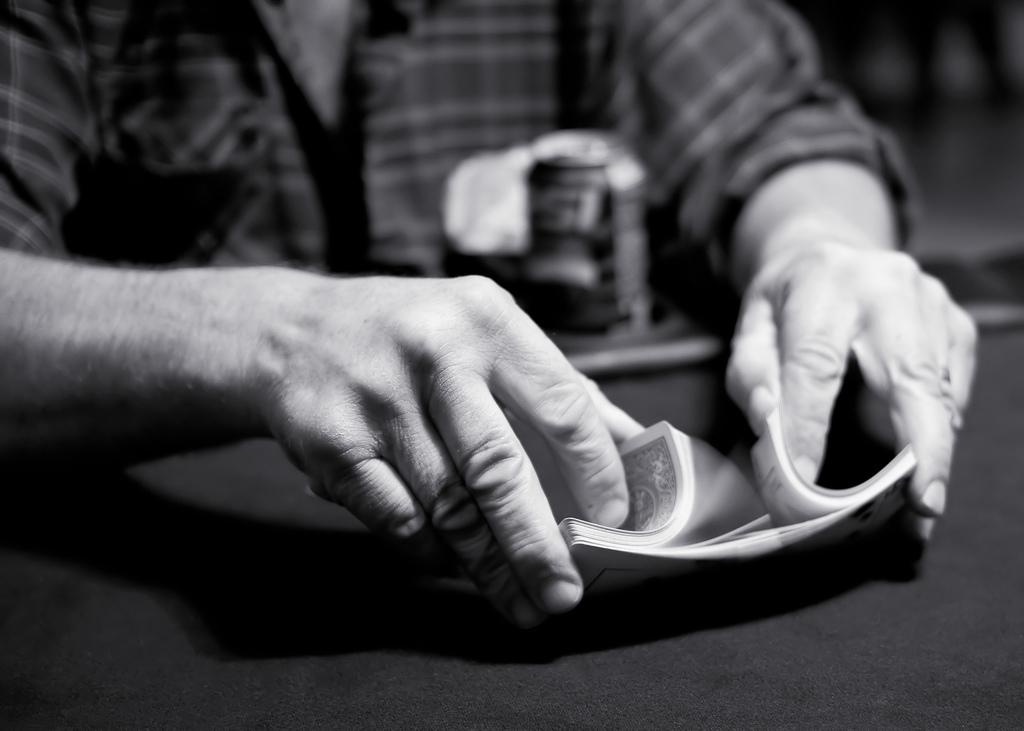 Playing card shuffler online dating 5