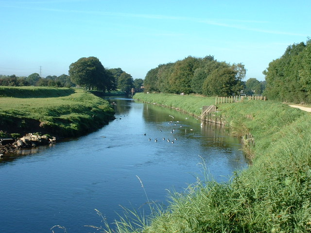 River Mersey near Parrs Wood - geograph.org.uk - 730708