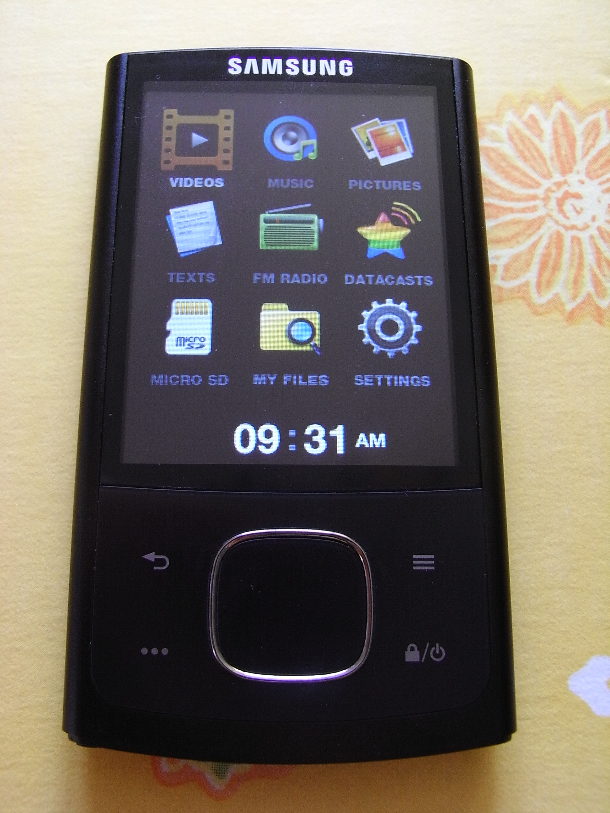 Samsung yp-r0 unboxing & test working youtube.