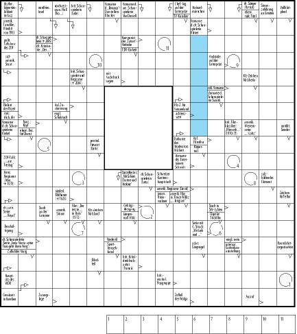 Kreuzworträtsel erstellen und ausdrucken