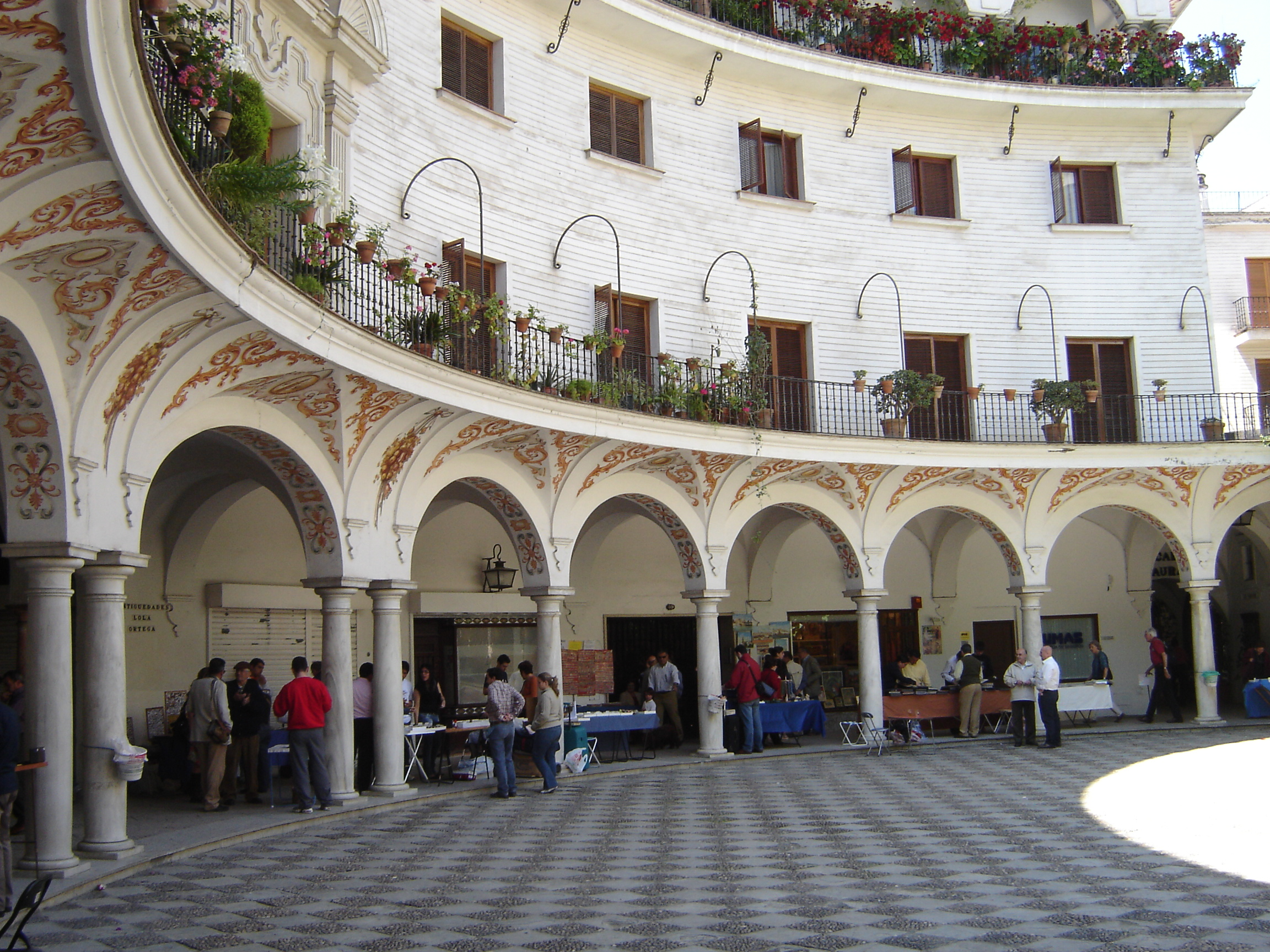 mercadillo plaza del cabildo