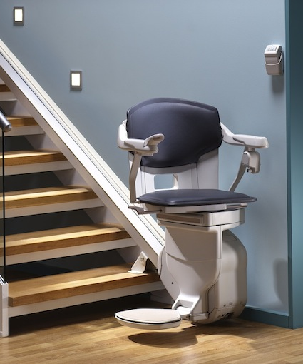 How stairlifts work.