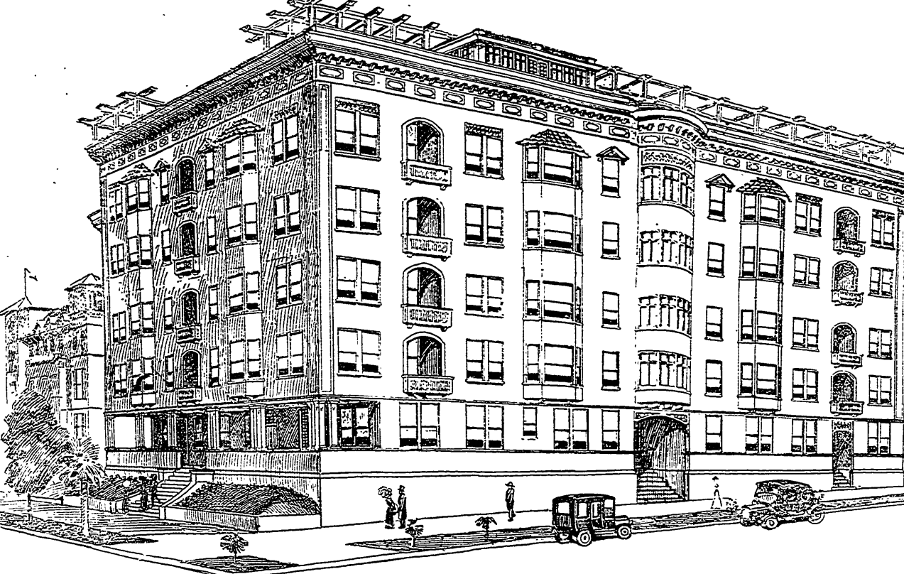 File Sketch Of Proposed Apartment Building At Sixth And Lake