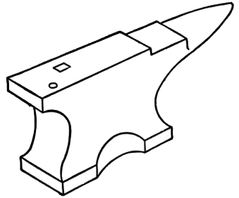 File Smd D015 Pictorial Representation Of An Anvil Png