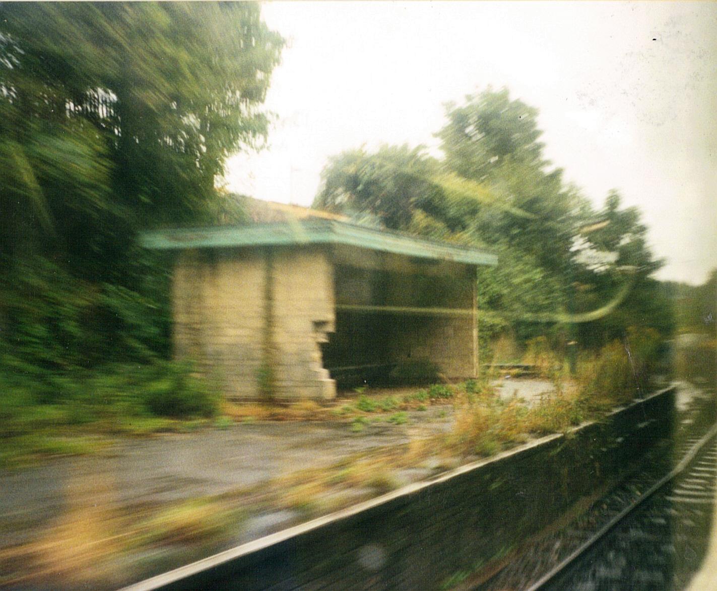 Description a railway station