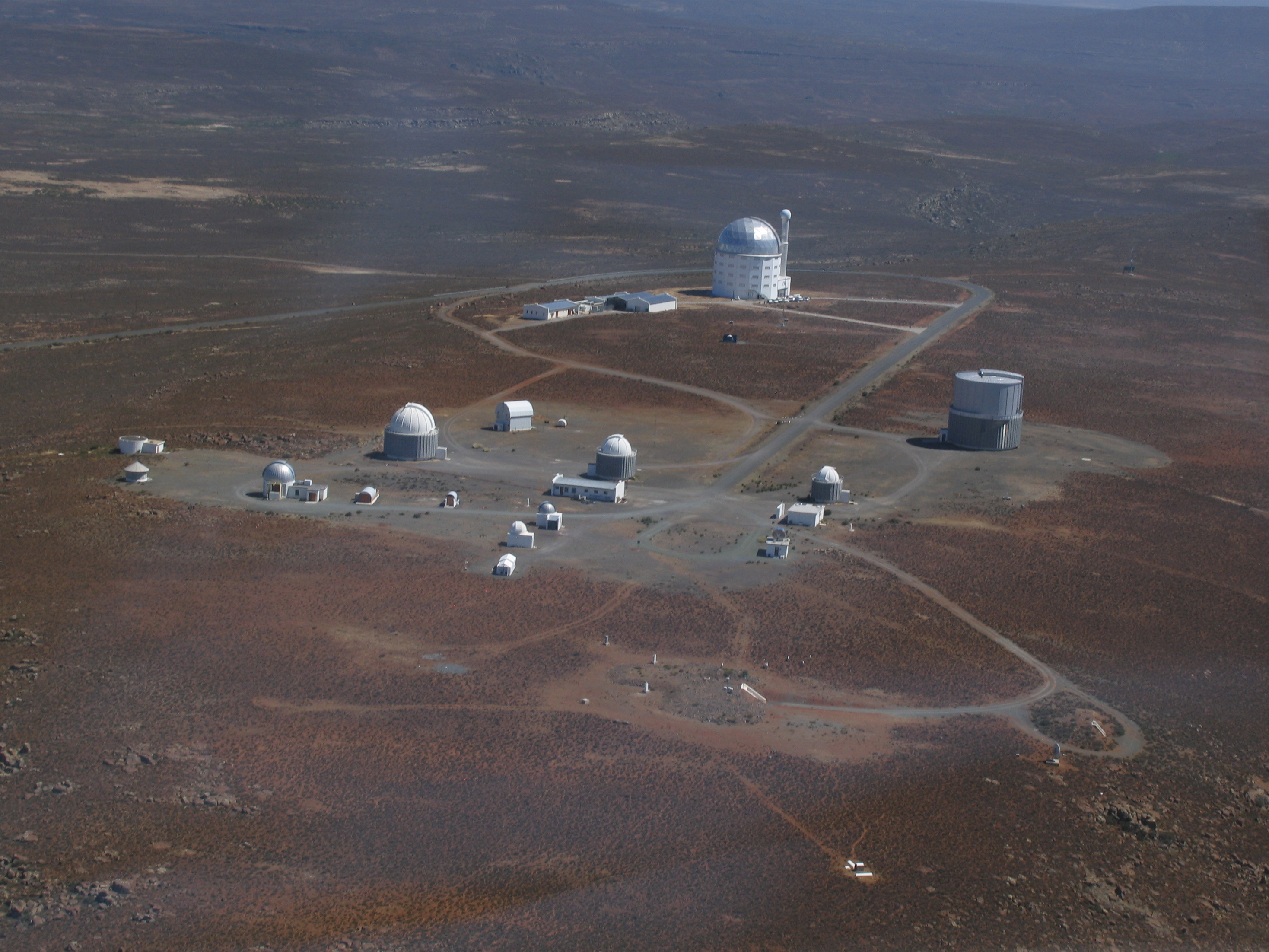 Sutherland South Africa  City pictures : South African Astronomical Observatory sutherland aerial view