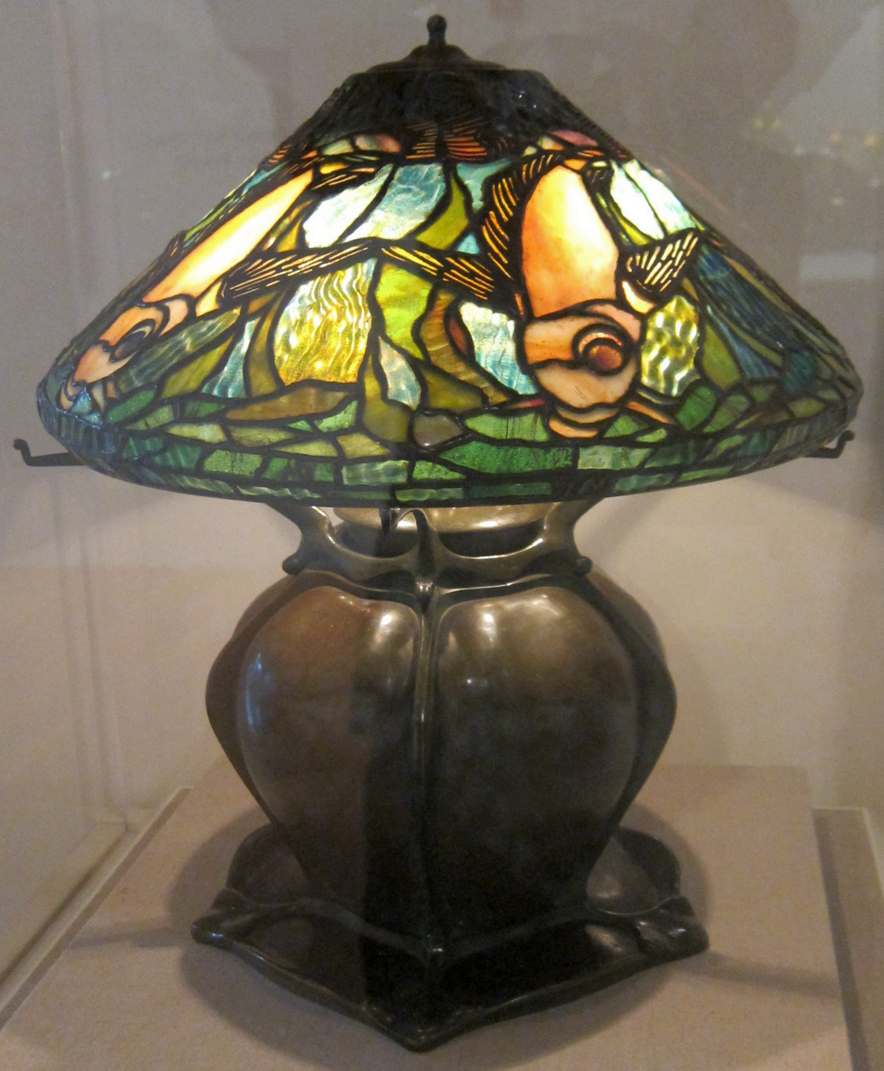 Attractive File:Table Lamp By Louis Comfort Tiffany, De Young Museum.JPG