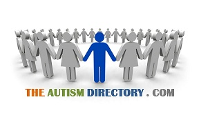 English: A logo for the website the autism dir...