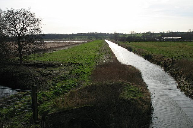 The South Drain - geograph.org.uk - 676959