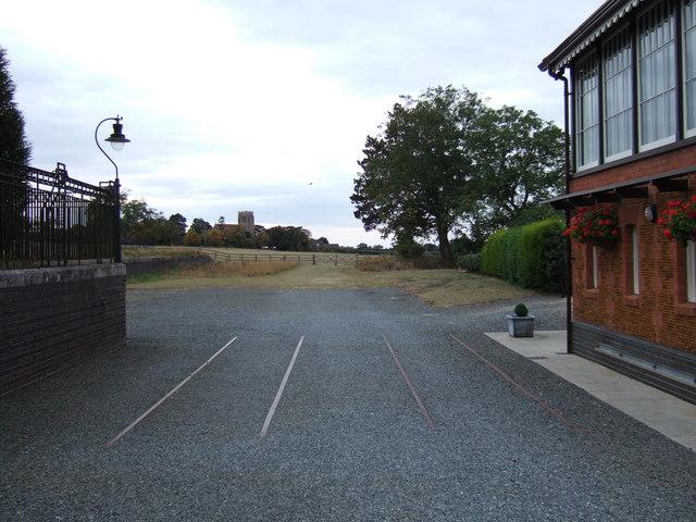 The last remaining railway tracks, Wolferton - geograph.org.uk - 1510026