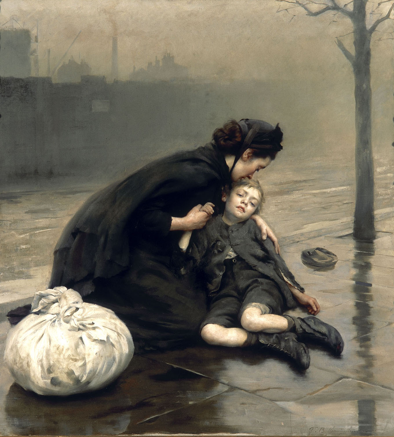 https://upload.wikimedia.org/wikipedia/commons/7/7c/Thomas_Kennington_-_Homeless_%281890%29.jpg