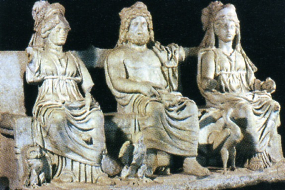 Минерва, Юпитер и Юнона