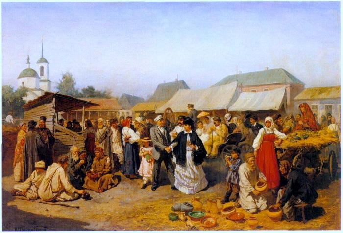 Картинки по запросу базар на руси