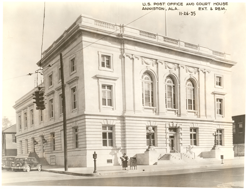 File U S Court House And Post Office Anniston Alabama