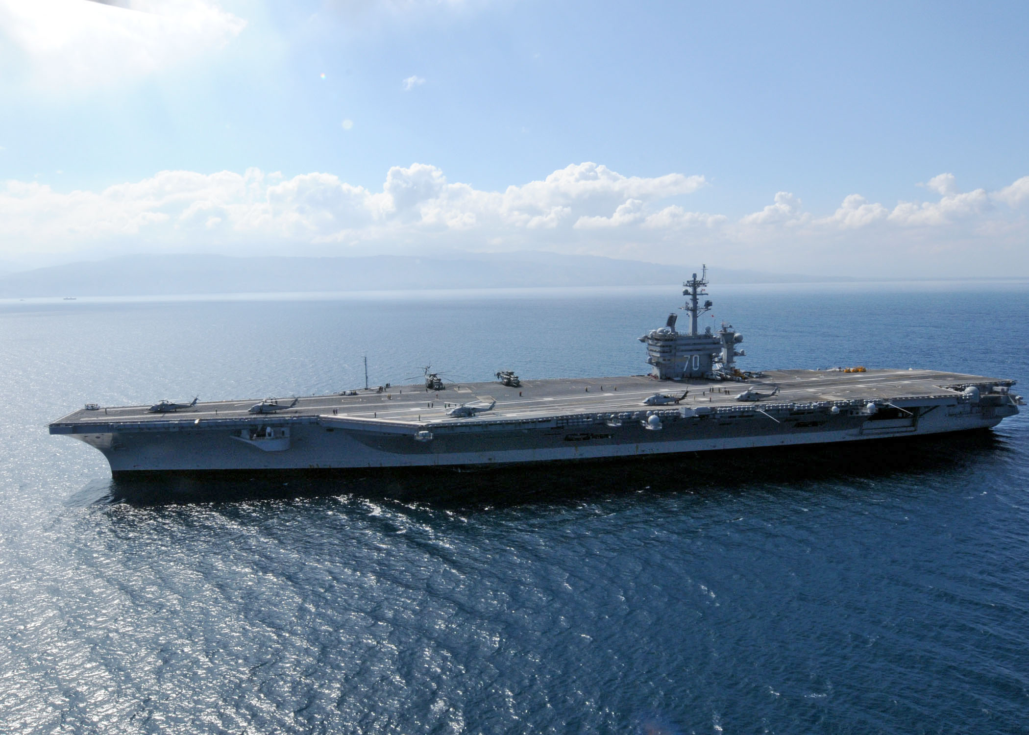 helicopter aircraft carrier with File Uss Carl Vinson  Cvn 70  Off Port Au Prince 17 Jan 2010 on UNIT BERBER CAVALRY besides 154kittyhawk furthermore File USS Carl Vinson  CVN 70  off Port Au Prince 17 Jan 2010 as well Holycityhelicopters further Stealth Ships.