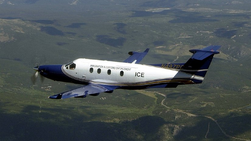 U. S. Immigration and Customs Enforcement Aircraft