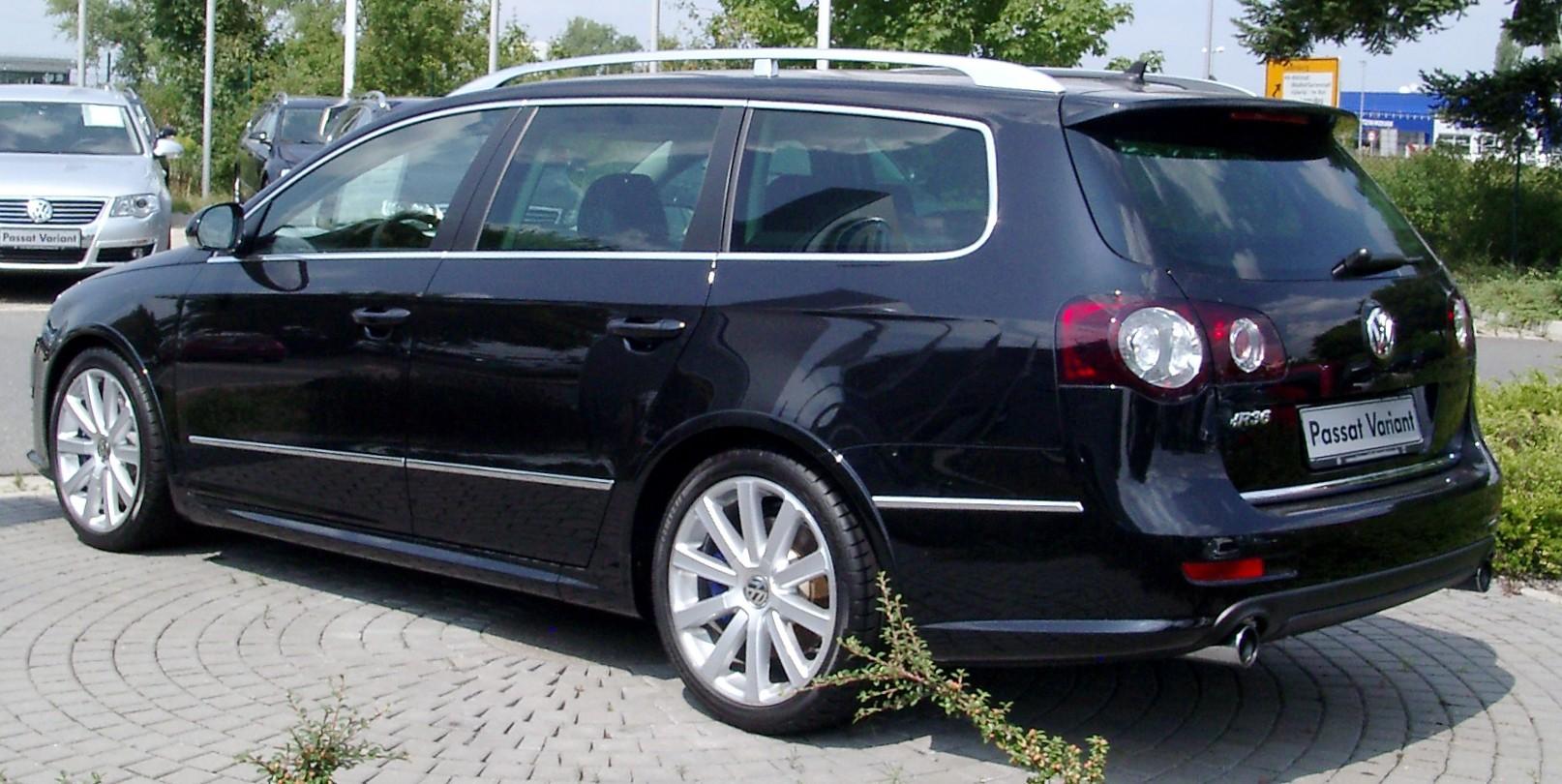 Description vw passat variant r36 rear 20080801 jpg 2008 volkswagen passat r36