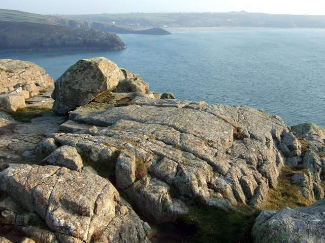 View southeast from St David's Head - geograph.org.uk - 1100534