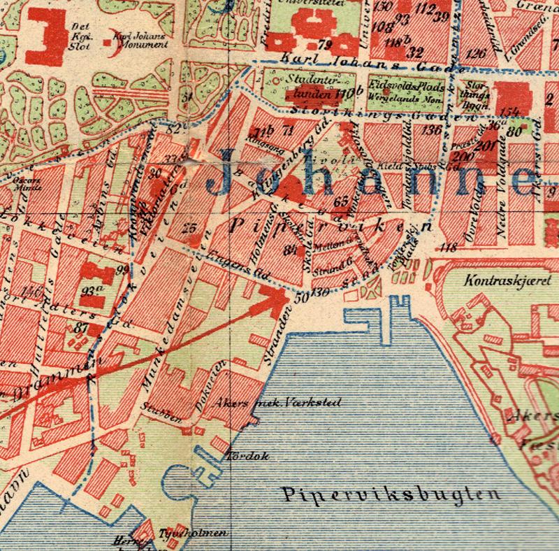 File Vika Oslo Map 1900 Jpg Wikipedia