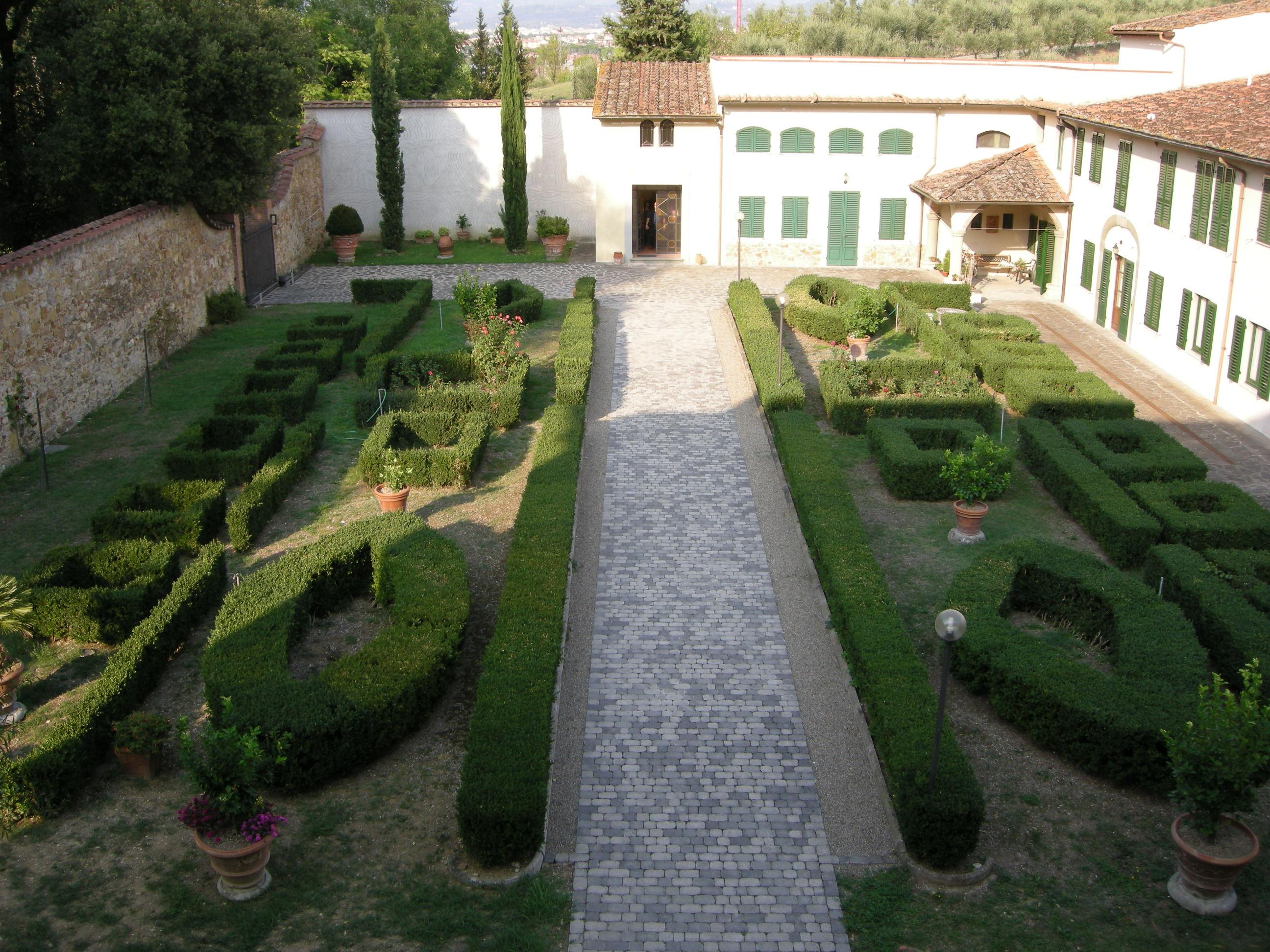 File villa la nerlaia giardino all 39 italiana - Giardino all italiana ...
