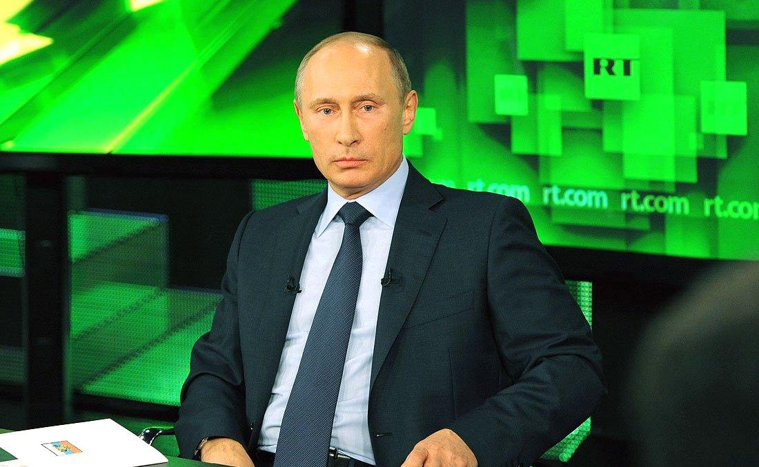 Image result for Putin RT