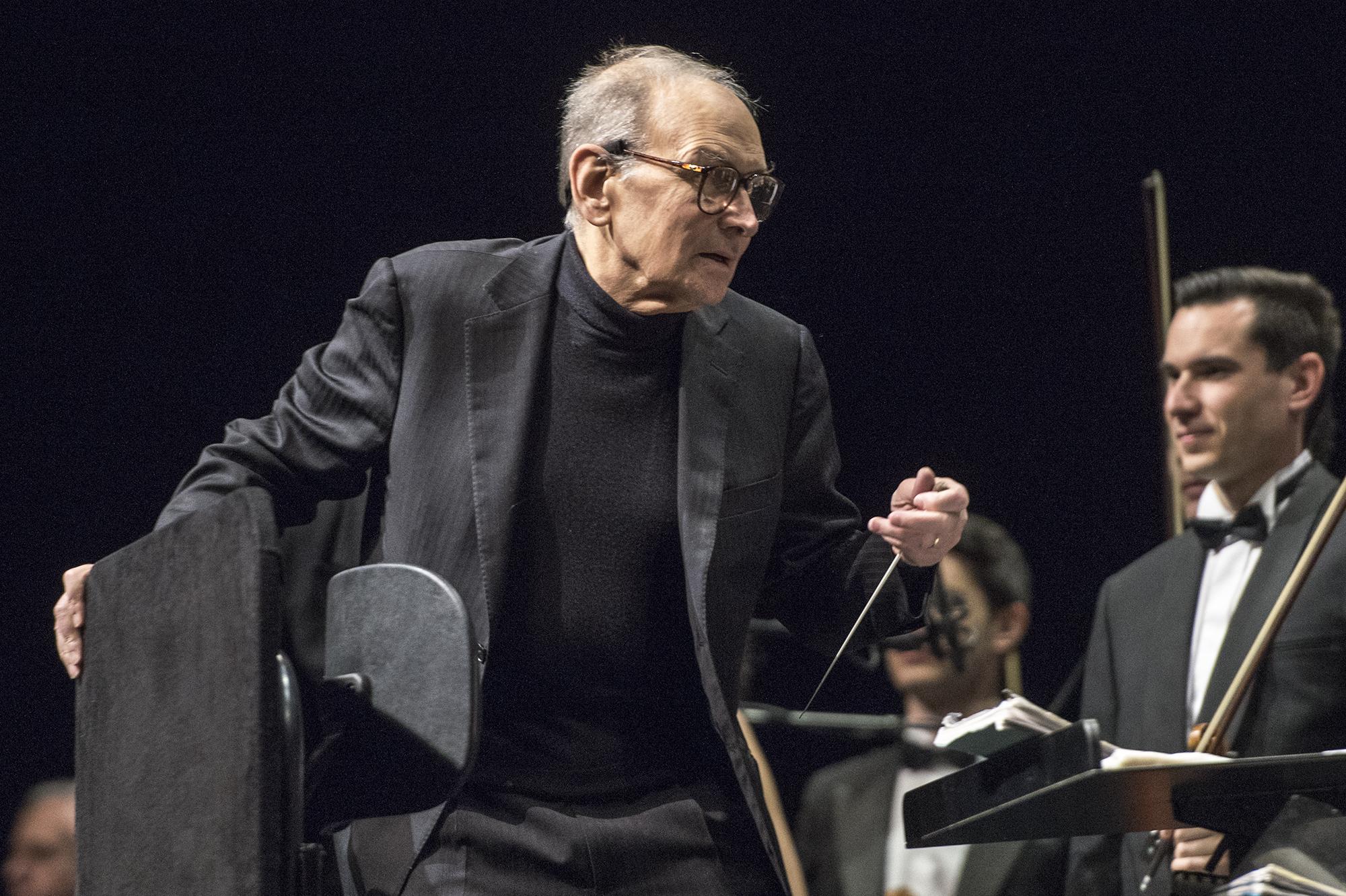 Der Komponist Ennio Morricone