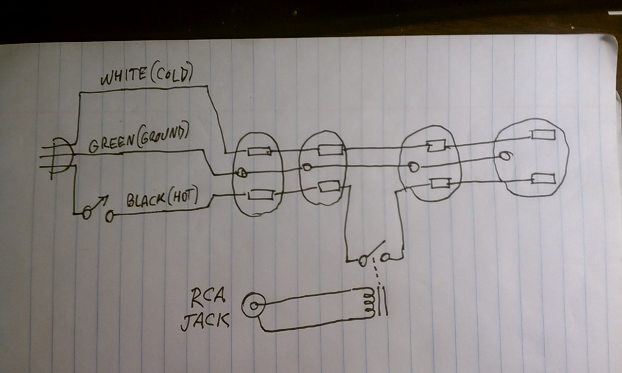 wiring diagram for power strips all wiring diagram Headphone Jack Wiring Diagram